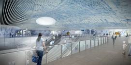Station hall render
