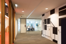 Municipal offices - Meeting room - Wall graphics