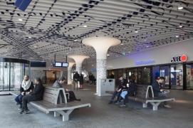 Train station hall
