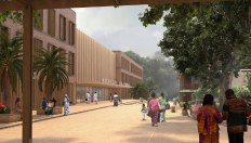 Panzi Hospital Bukavu Main entrance new building